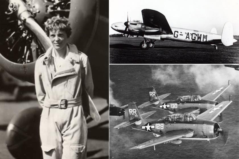 Titokzatos eltűnések: sosem érték el úti céljukat ezek a repülőgépek