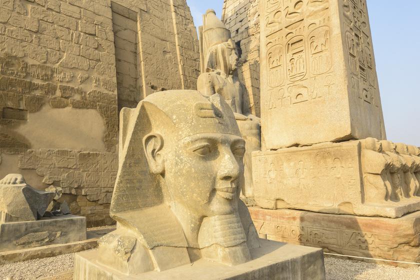 Lenyűgöző képen alkották újra az egyiptomi templomot: ilyen csodás lehetett régen