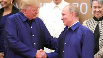 Putyin és Trump az argentin G20-csúcson tárgyal majd