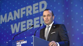 Nagy többséggel Manfred Weber a Néppárt csúcsjelöltje