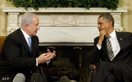 Benjámin Netanjahu és Barack Obama