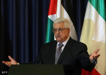 Mahmúd Abbász palesztin elnök