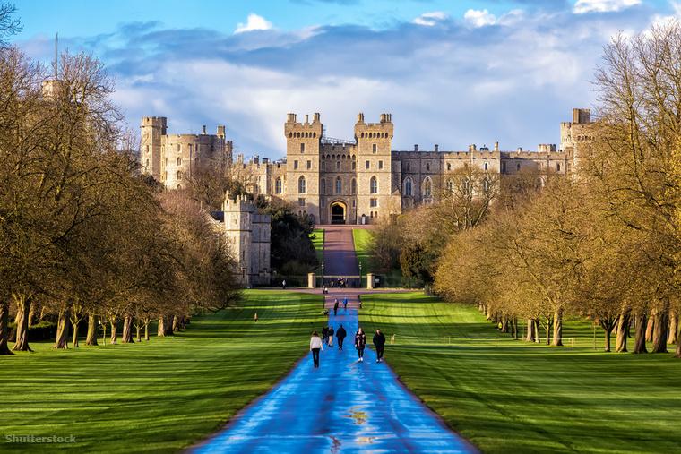 Az Egyesült Királyság Berkshire megyéjének windsori kastélya a brit királyi család tulajdonában van, amit a mai napig használnak