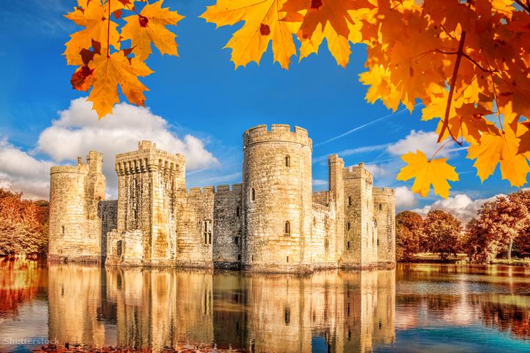 A bodiami vár Kelet-Sussex 14
