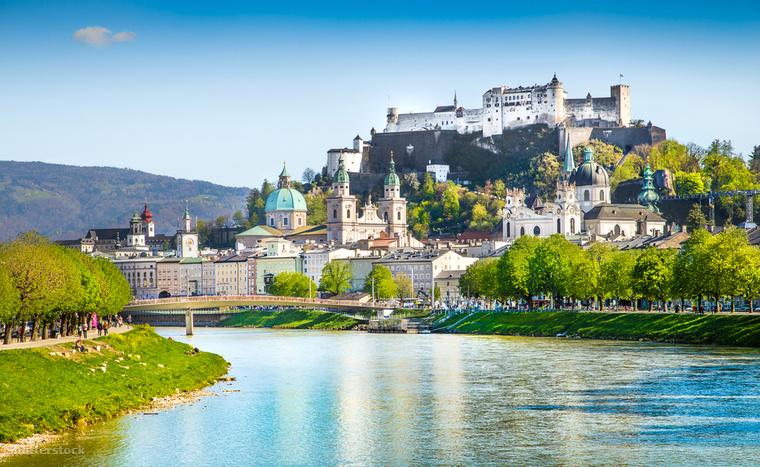 A Salzburgban található Hohensalzburg vára Európa egyik legrégebben épült és legnagyobb vára