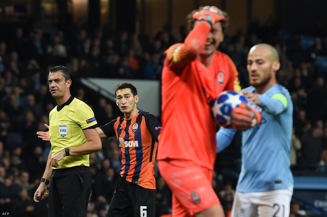 Manchester City-Sahtar Donyeck