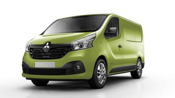 Jön az első Mitsubsihi Renault-alapokon