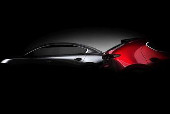 Újra felvillantják az új Mazda 3-ast