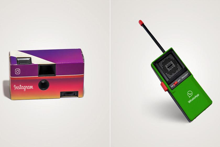 Így nézne ki a Facebook és az Instagram, ha még mindig a 80-as években járnánk
