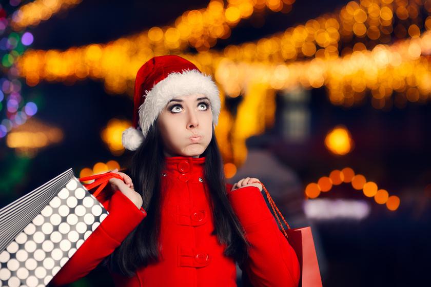 karácsony stressz ajándékok nő
