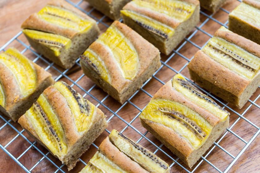 Fűszeres, puha, banános süti: csak keverd össze a hozzávalókat