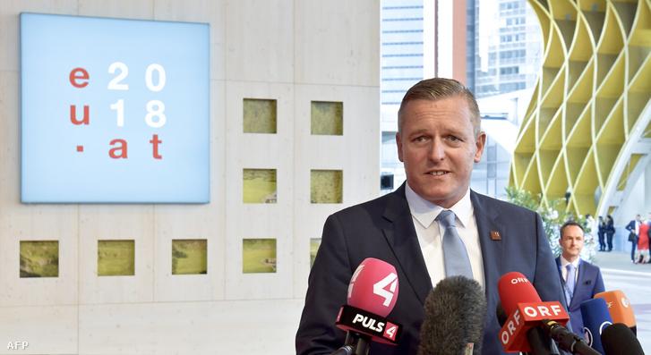 Mario Kunasek osztrák védelmi miniszter