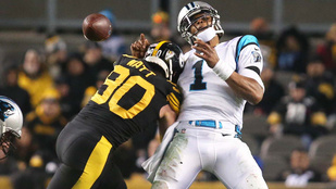 13 mp alatt két TD-t vitt a Steelers