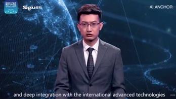 Nem kell több tévébemondó, Kínában már robotok mondják a híreket