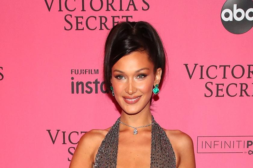 Bella Hadid mindent megmutatott a Victoria's Secret-afterpartin - Átlátszó estélyiben szexiskedett