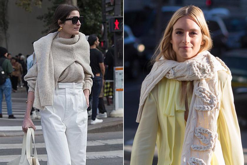 A Vogue-nál dolgozó Irina Linovich és egy blogger még furcsábban vették fel a pulcsit.