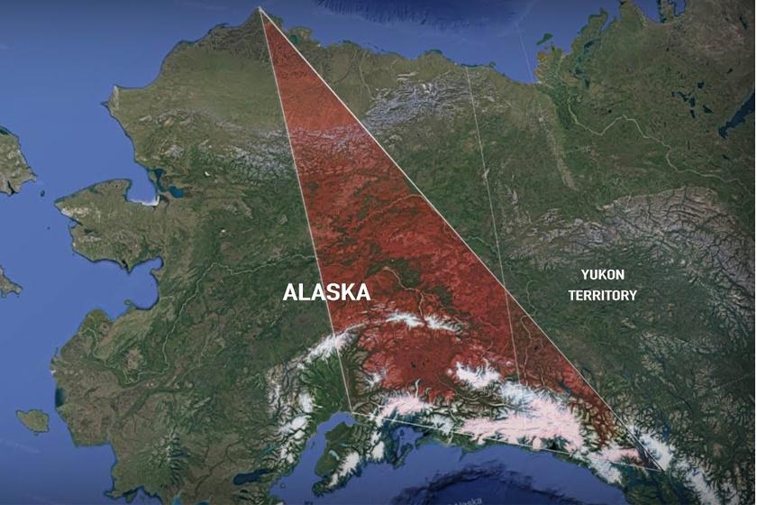 Az Alaszka-háromszög.