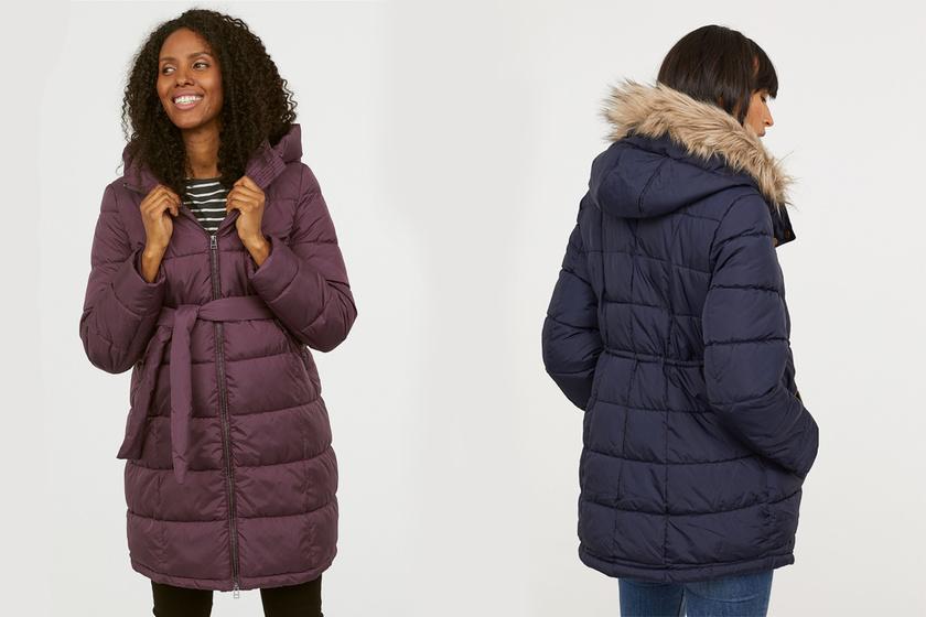 Divatos, meleg télikabátok kismamáknak - Ezekben nem fogsz fázni