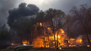 Malibut is kiürítik a kaliforniai tűzvész miatt