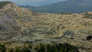 Engedélyezték Románia legnagyobb arany- és rézbányájának megnyitását