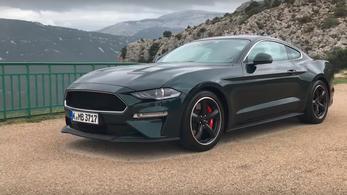 Bemutató: Ford Mustang Bullitt - 2018.
