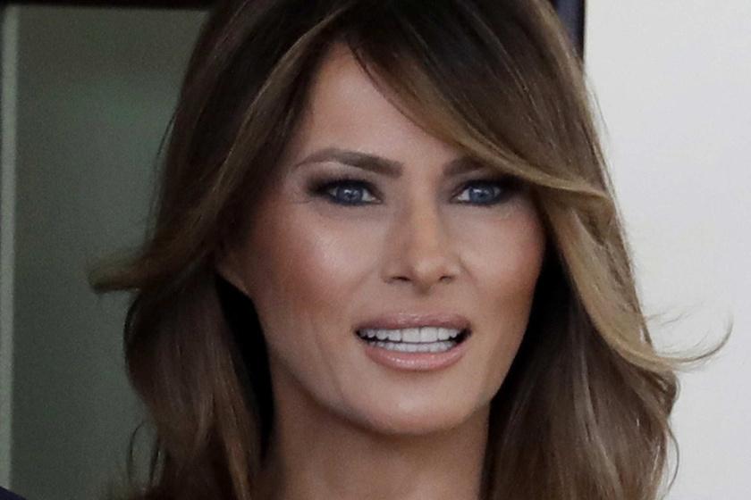 Melania Trump őszi szettjét imádják a rajongók - Ő a legsikkesebb first lady