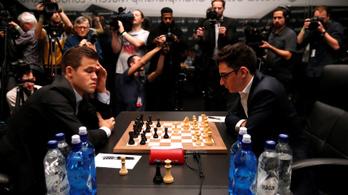 Fordulatos döntetlent hozott a sakkvébé első partija