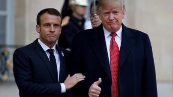 Trump szerint Macronnal jó barátok és mindketten erős Európát akarnak