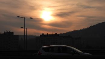 Egészségtelen a levegő minősége Budapesten