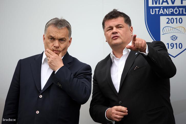 Orbán Viktor és Nyerges Zsolt