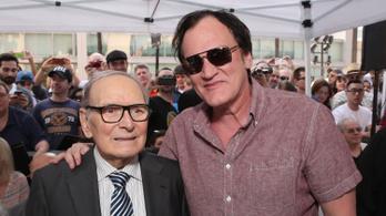 JAVÍTÁS: Morricone szerint Tarantino NEM kretén. De akkor mi?
