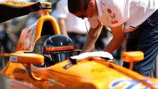 Alonso 2019-ben is rámegy az Indy 500-ra