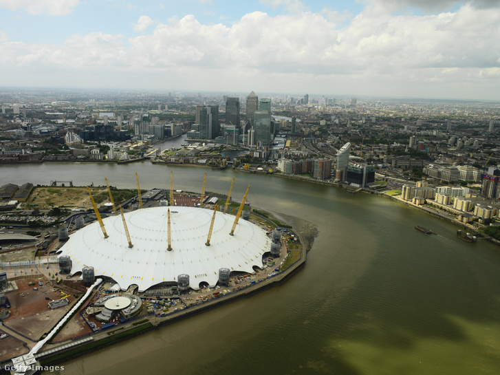 A londoni O2 Aréna.