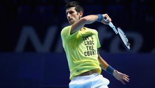 Djokovics megkoronázhatja az évét, beérheti Federert