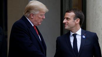 Macron: Európának önálló védelmet kell kiépítenie amerikai fegyverek vásárlása helyett