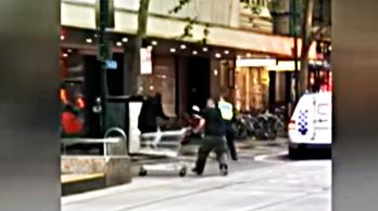 23 milliót gyűjtöttek a terroristával szembeszálló hajléktalannak