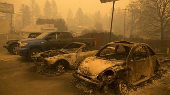 Egyre több a halottja a kaliforniai erdőtűznek