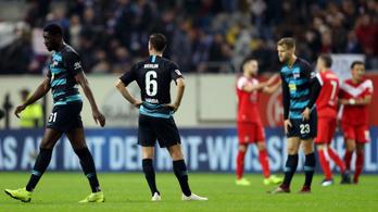 Nagyot fordult a világ, már a Hertha kríziséről írnak
