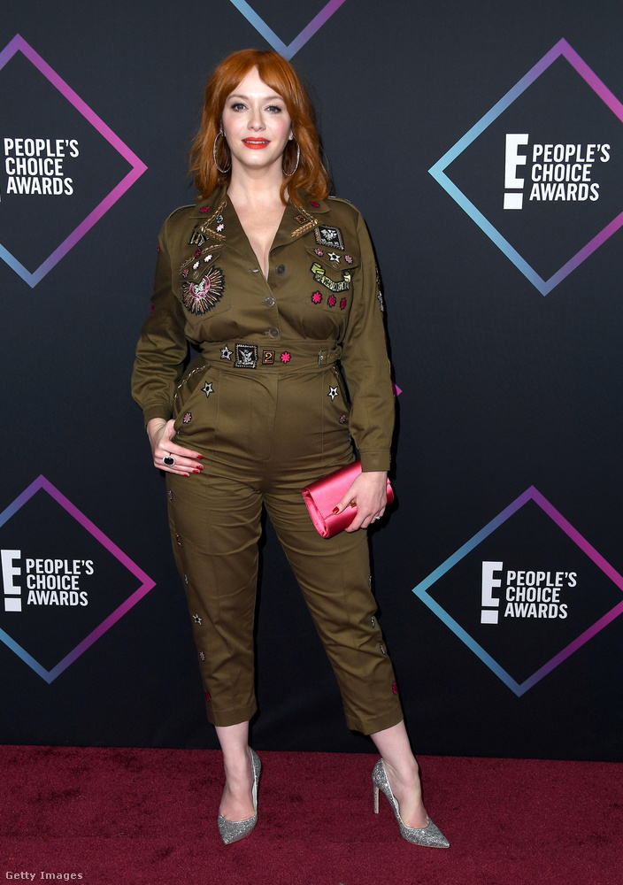 Christina Hendricks, akit a Mad Men tett híressé, szintén nem élete legzseniálisabb szettjét vette fel erre az estére