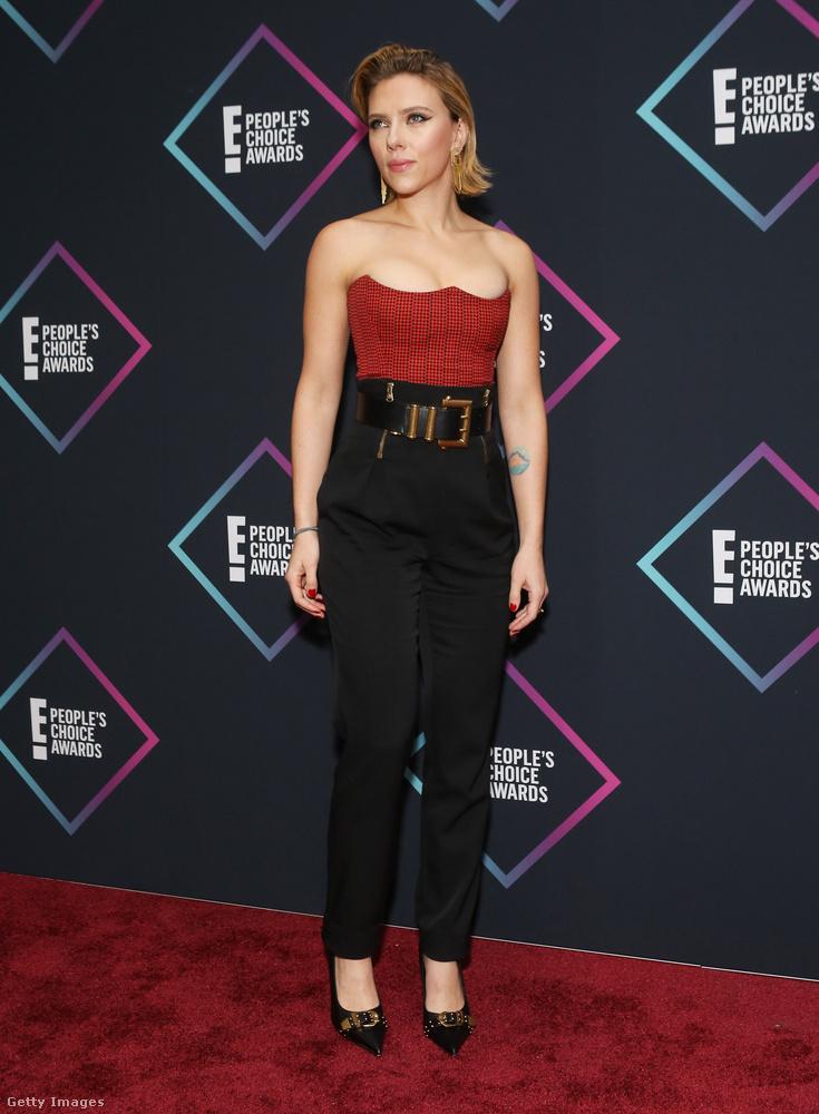 Kaliforniában, Santa Monicában volt a People's Choice Awards nevű gála vasárnap este-hétfő hajnalban