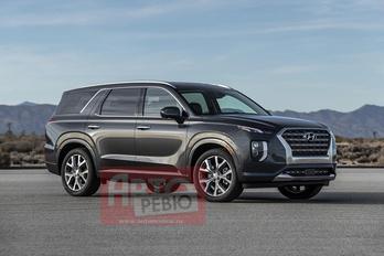 Ilyen lesz a Hyundai új óriás-terepjárója