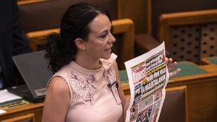 Kormánypárti cikk uszítása is előjött a parlamenti ülésen