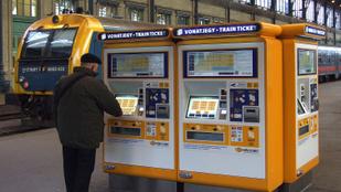 Nem nagyon működik a vasúti jegyértékesítés