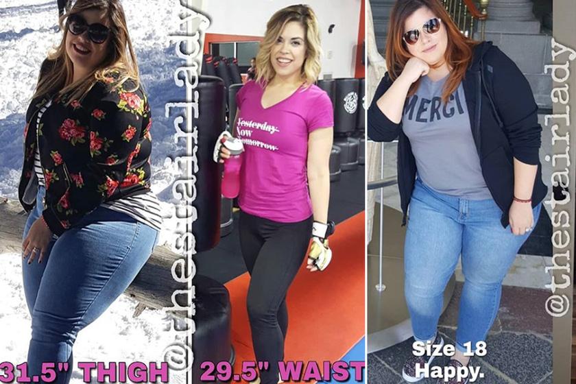 45 kiló mínusz ketogén diétával: a fiatal nő a kislánya miatt kezdett fogyókúrázni