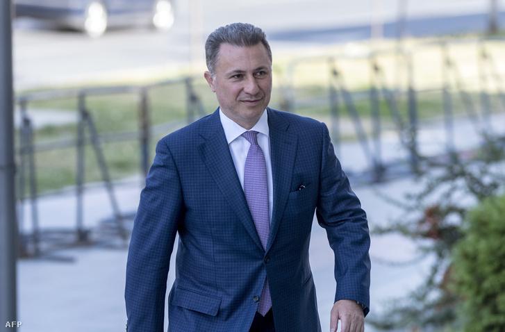 Nikola Gruevszki volt macedón miniszterelnök
