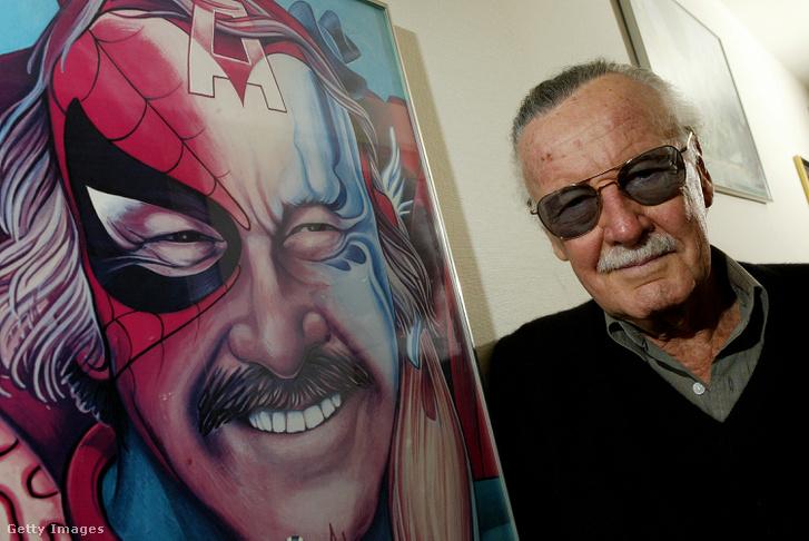 Stan Lee az irodájában 2004. június 18-án