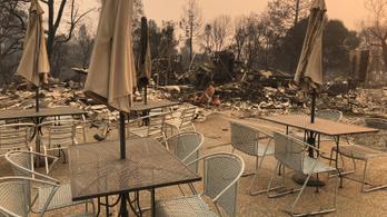 Teljesen leégett egy város Kaliforniában, már nem is építik újjá