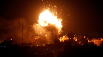 A Hamász tévéjére és egy szállodára is csapást mért az izraeli légierő