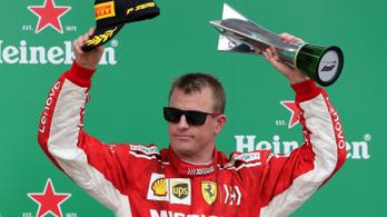 A vb-győzelme óta nem volt ilyen jó Räikkönen