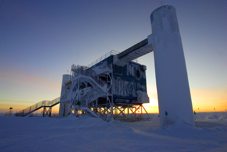 Az IceCube Neutrino Observatory